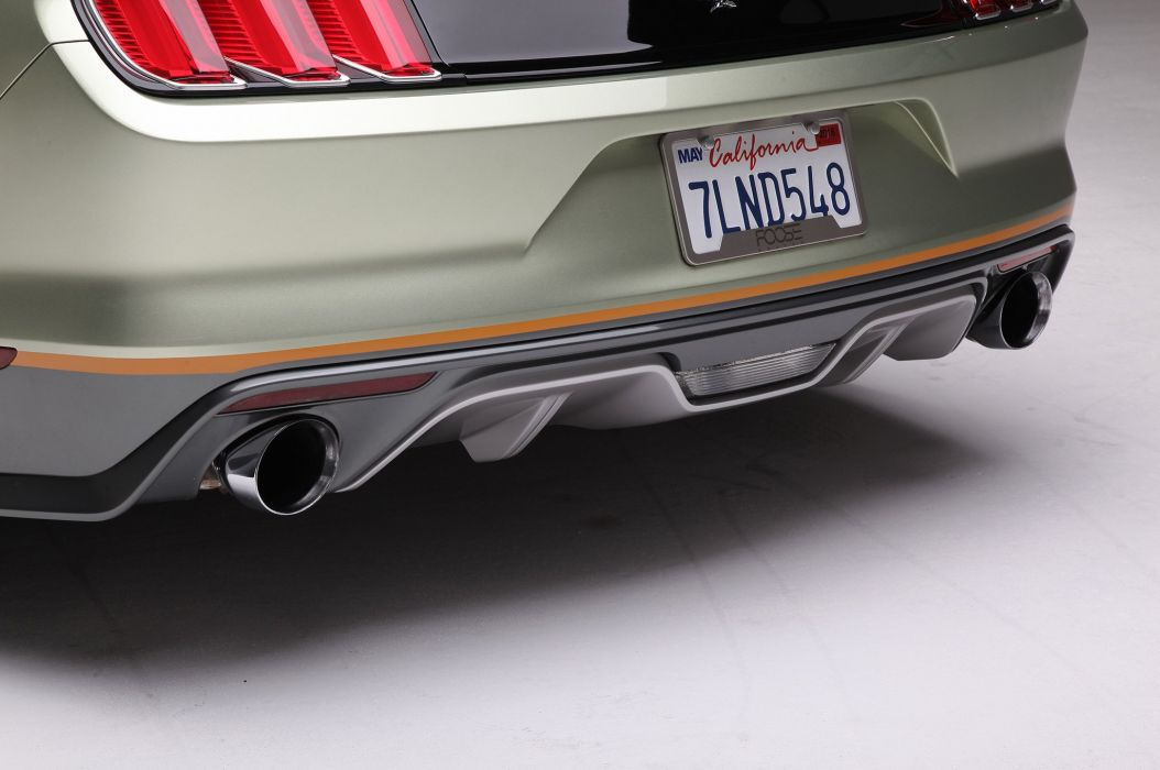 2015 Ford Mustang S550 Convertible Foose Pro Touring Super Street Car USA -10 wallpaper