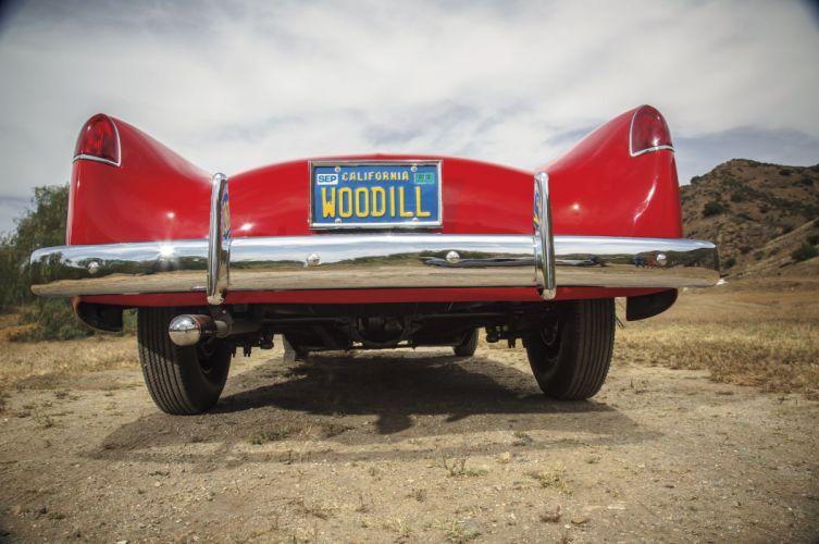 1952 Woodill Wildfire Roadster Sport Classic Rare Original Vintage USA -05 wallpaper