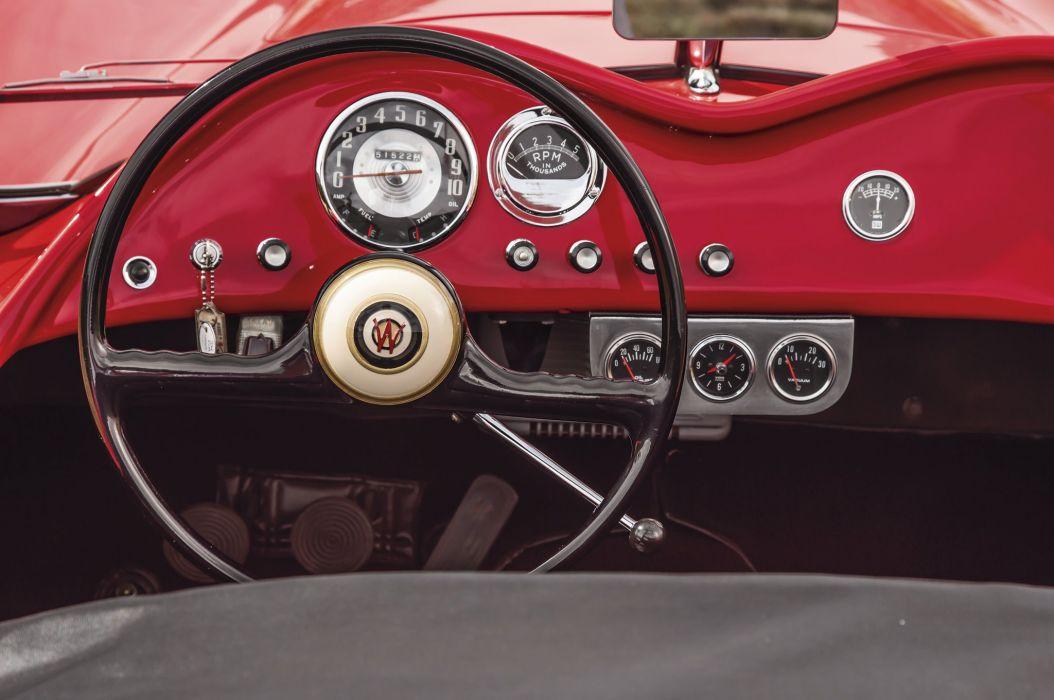 1952 Woodill Wildfire Roadster Sport Classic Rare Original Vintage USA -08 wallpaper