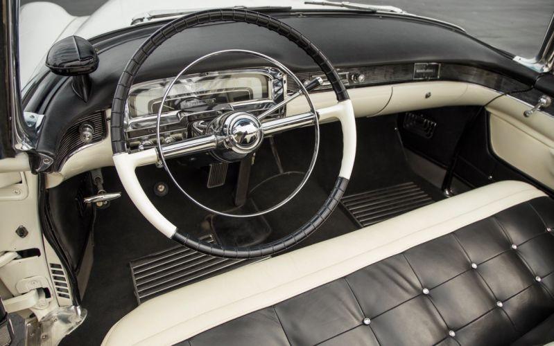 1955 Cadillac Eldorado Convertible Old Classic Vintage USA -01 wallpaper