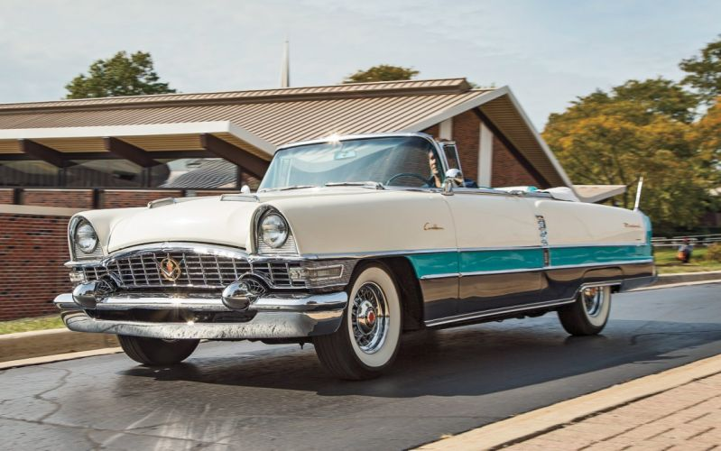 1955 Packard Caribbean Convertible Old Classic Vintage USA -02 wallpaper