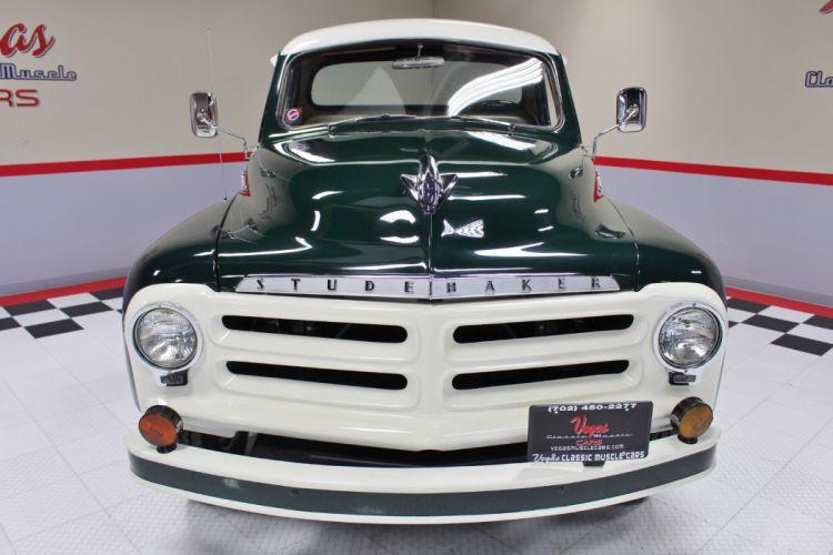 1955 Studebaker Pickup Classic Old Vintage Retro Original USA -05 wallpaper