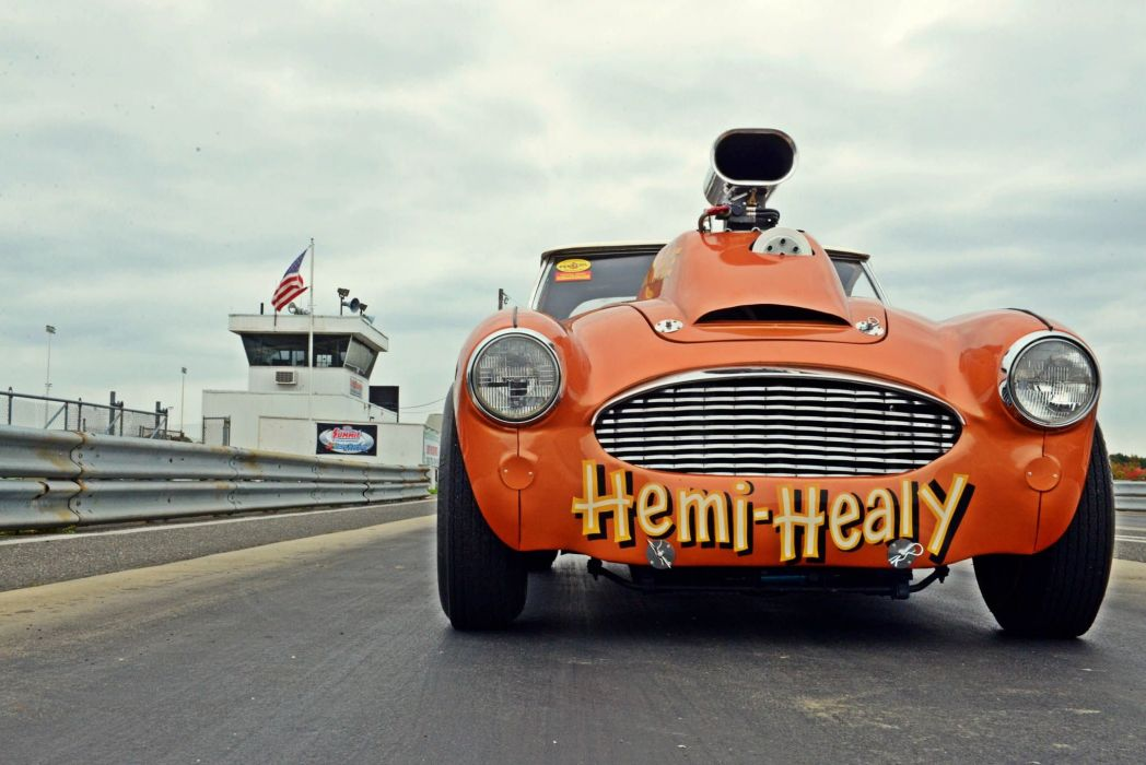 1956 Austin Healey H emi Super Stock Pro Street Super Drag USA -24 wallpaper