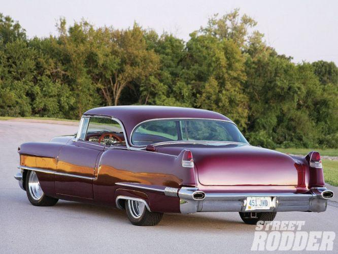 1956 Cadillac Series 62 Two Door Hardtop-Coupe Hotrod Hot Rod Custom USA 1600x1200-02 wallpaper