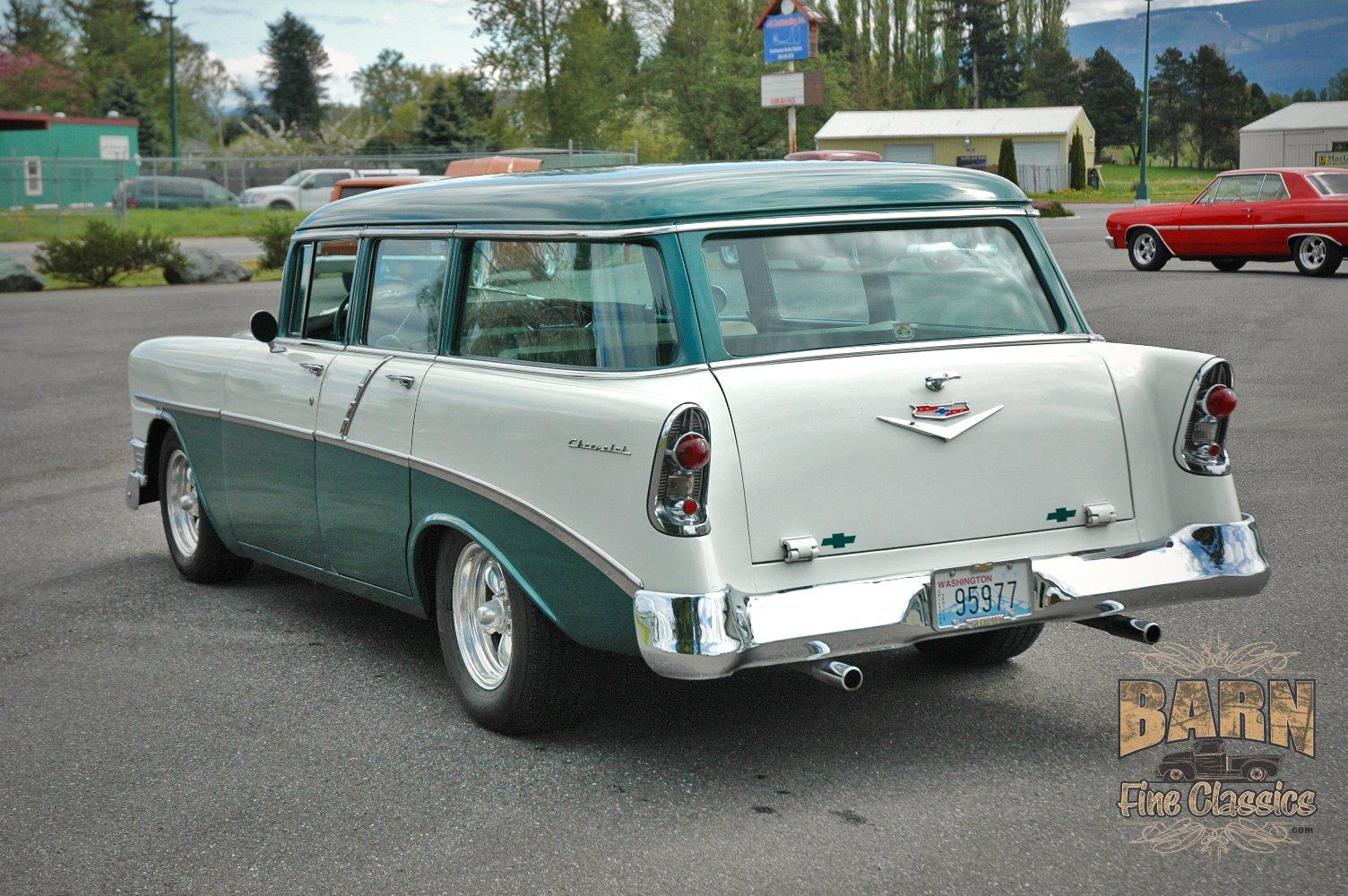 1956 Chevrolet Chevy 210 Bel Air Belair Nomad Four Door Wagon Hotrod 1966 Streetrod Hot Rod Street Rodder Usa 1500x1000 01 Wallpaper 1504x1000 937562