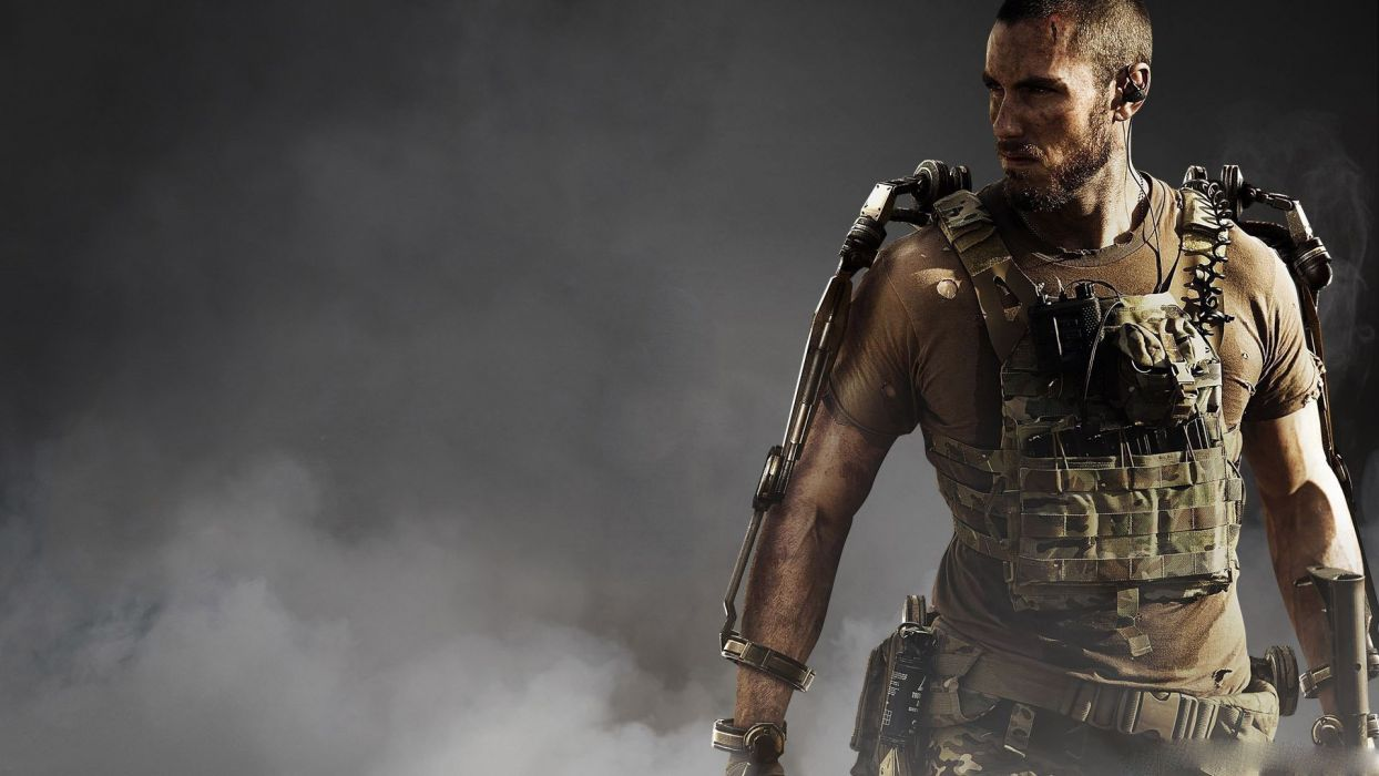 CALL Of DUTY shooter war warrior military action fighting sci-fi futuristic soldier wallpaper