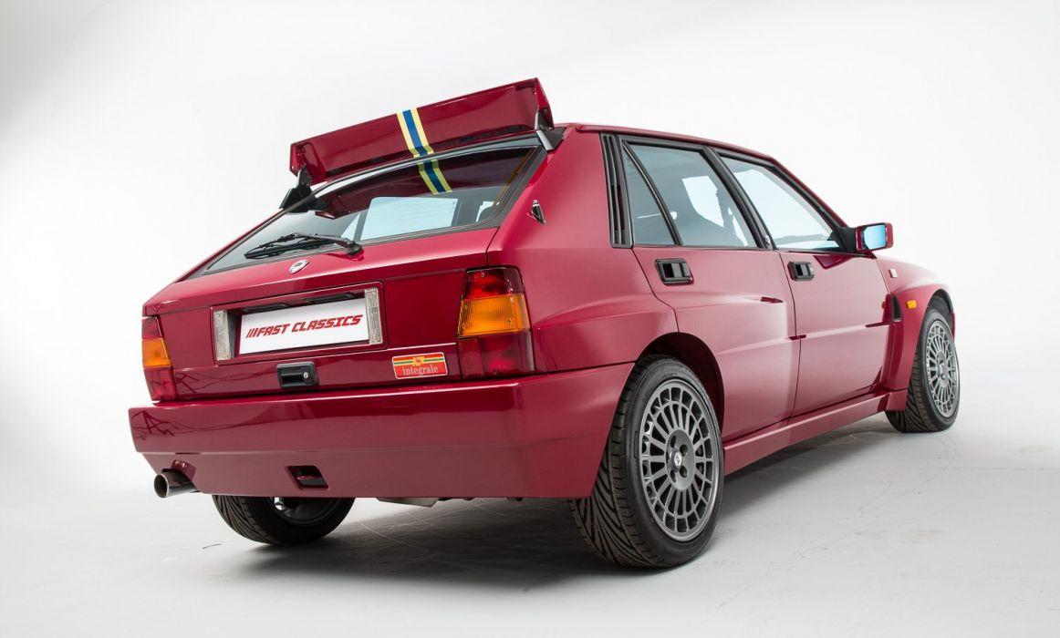 Lancia Delta HF Integrale Evoluzione II Edizione Finale cars 1994 wallpaper