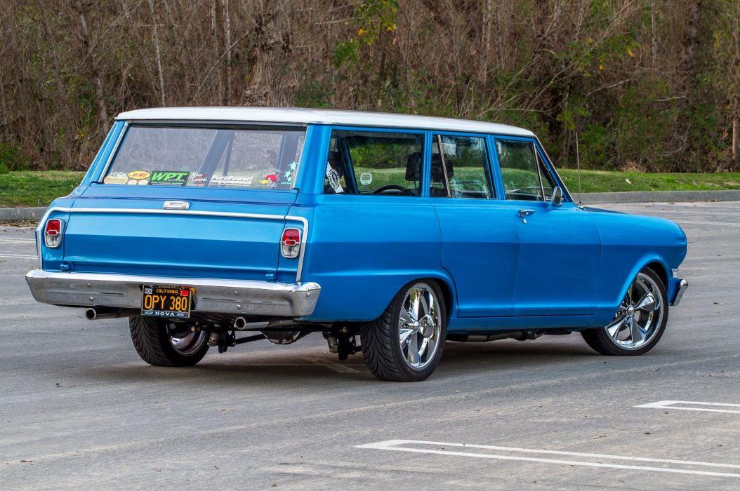 1964 Chevrolet Chevy Nova Wagon Pro Touring Super Street Car Muscle Usa 06 Wallpaper 2048x1360 938882 Wallpaperup