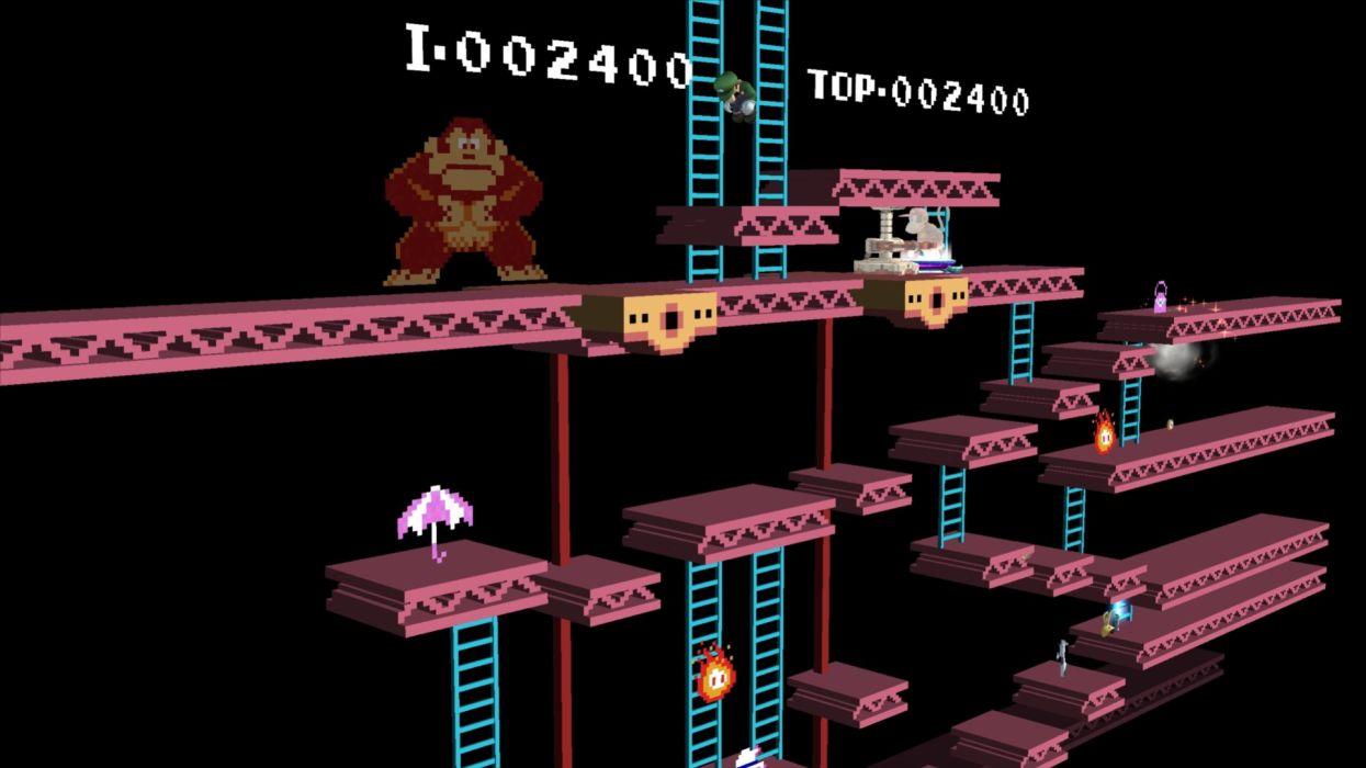Donkey Kong Clasico Video Juego Wallpaper 3840x2160