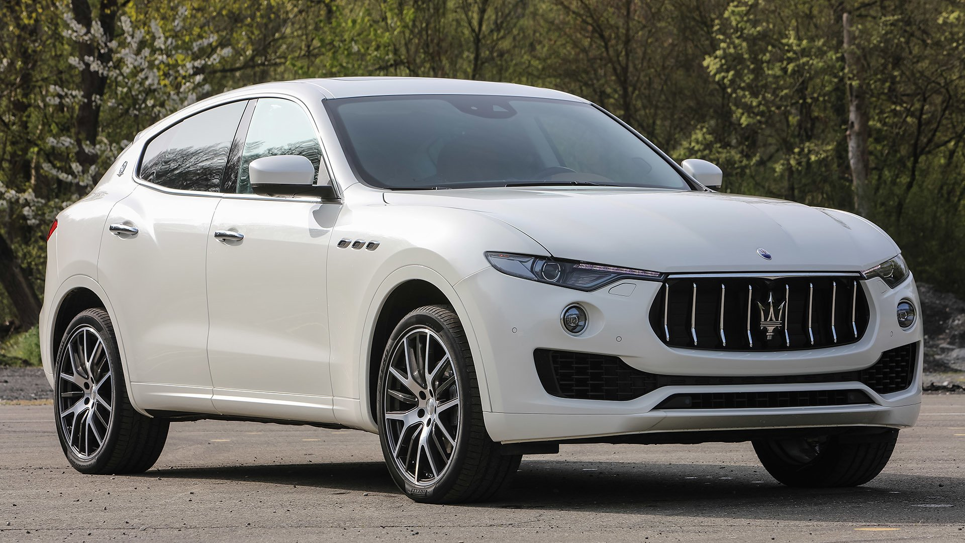 Maserati Levante Cars Suv White 2016 Wallpaper 1920x1080
