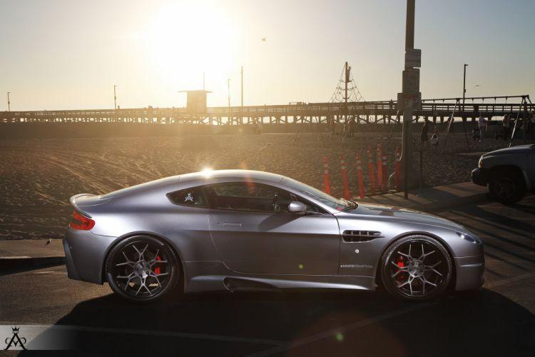 Aristo Forged Wheels Aston Martin V8 Vantage Cars Wallpaper