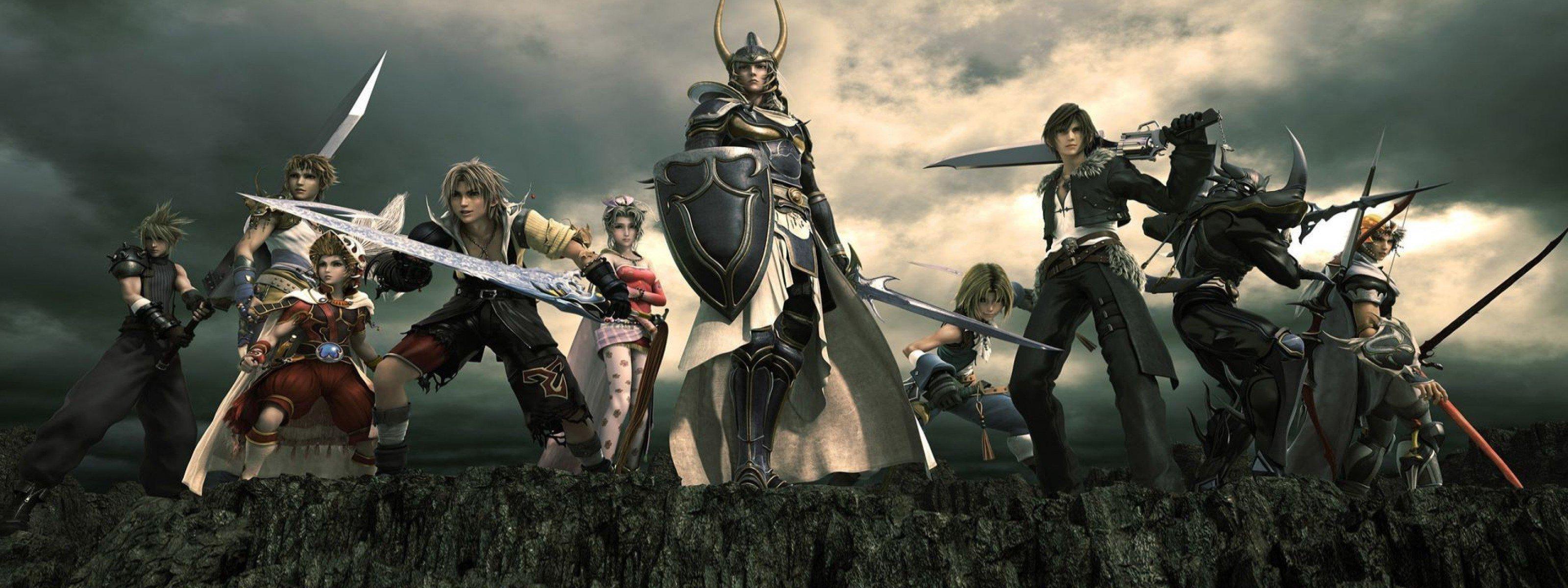 Final Fantasy Action Rpg Fighting Fantasy Combat Battle Warrior
