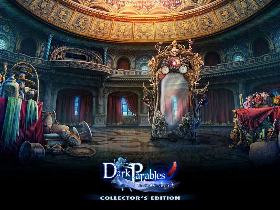 DARK PARABLES fantasy adventure puzzle exploration fairy perfect magic rpg online poster wallpaper