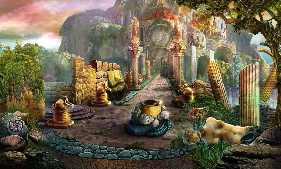DARK PARABLES fantasy adventure puzzle exploration fairy perfect magic rpg online poster wallpaper