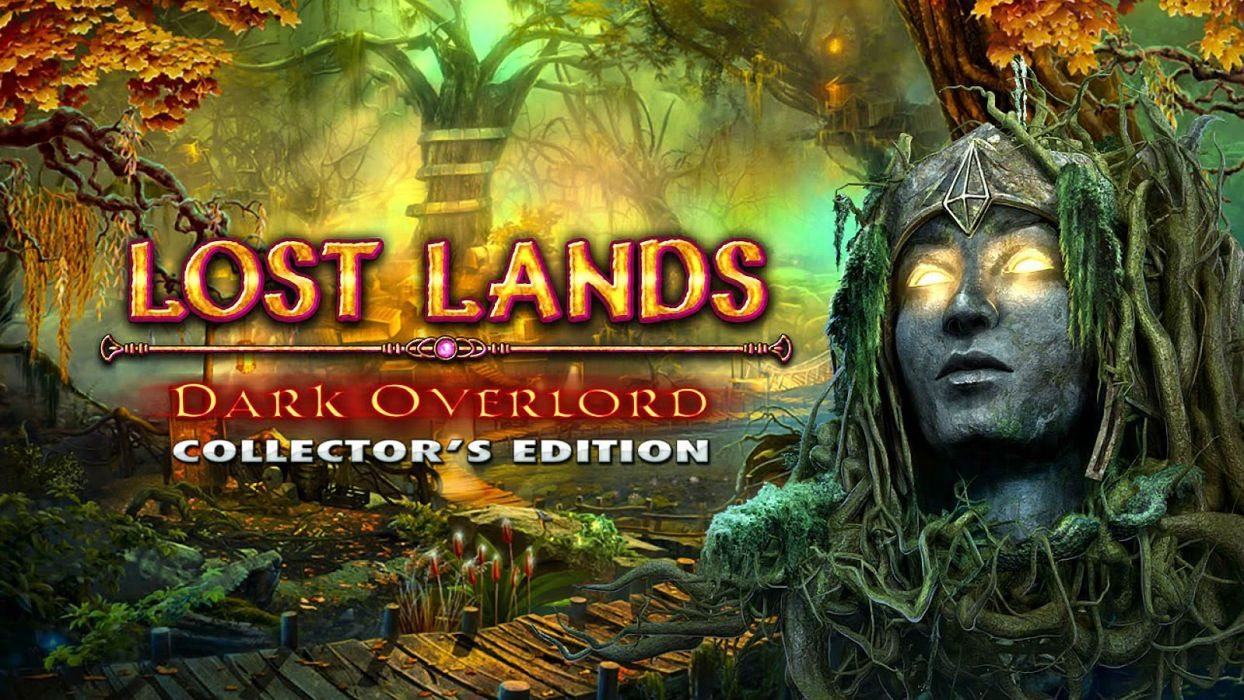 LOST LANDS Dark Overlord fantasy adventure puzzle exploration dark perfect magic rpg online mystery poster wallpaper