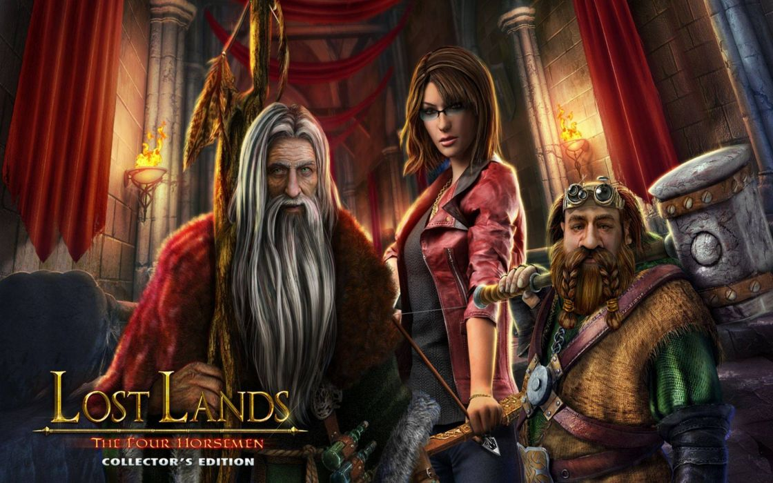 LOST LANDS fantasy adventure puzzle exploration dark perfect magic rpg online mystery poster wallpaper