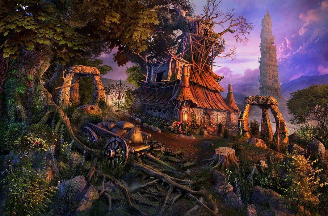 LOST LANDS fantasy adventure puzzle exploration dark perfect magic rpg online mystery wallpaper