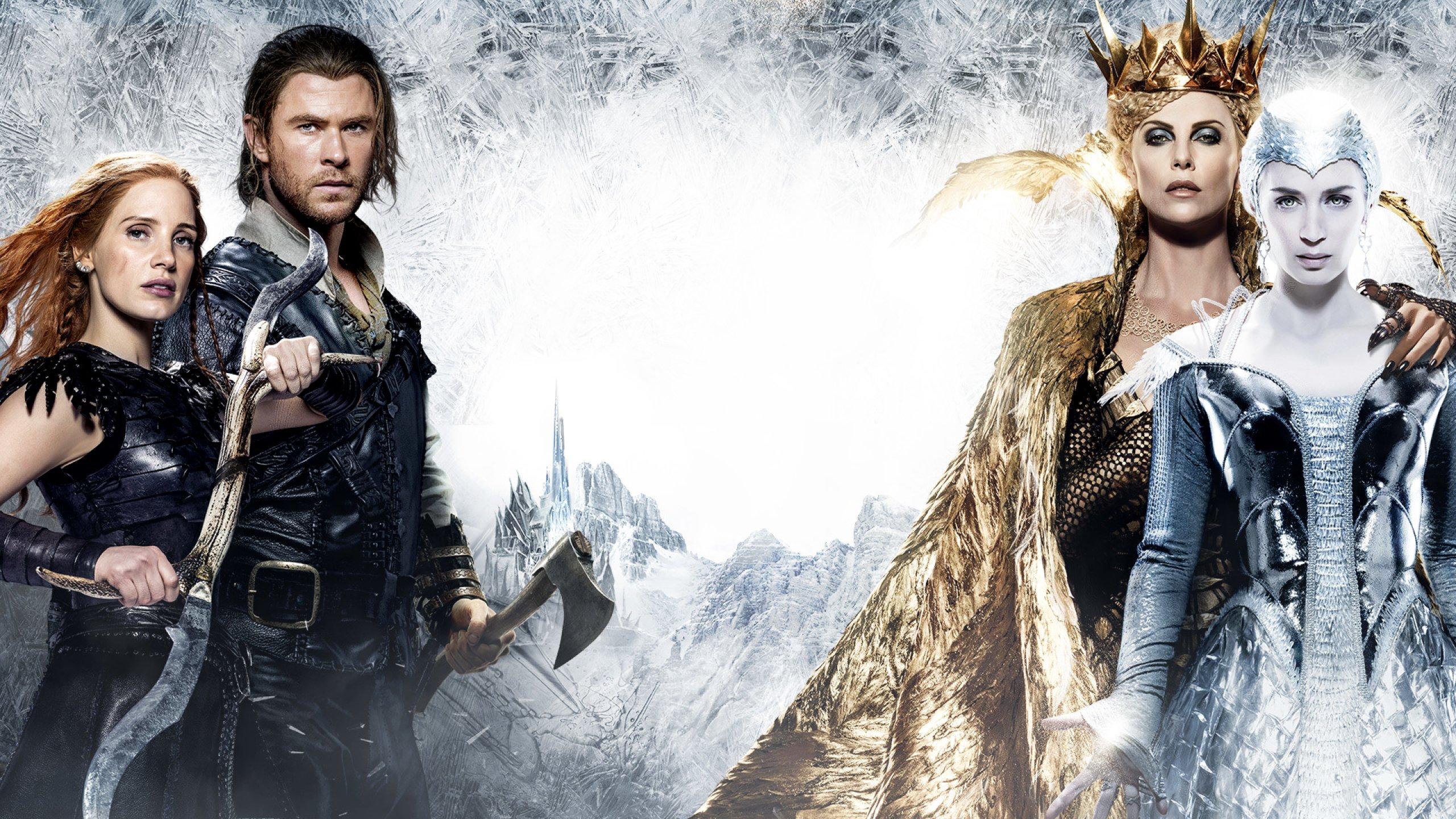 HUNTSMAN WINTERS WAR snow white fantasy action adventure ...