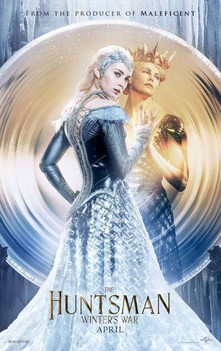 HUNTSMAN WINTERS WAR snow white fantasy action adventure disney brothers grimm drama fairy 1swh poster wallpaper