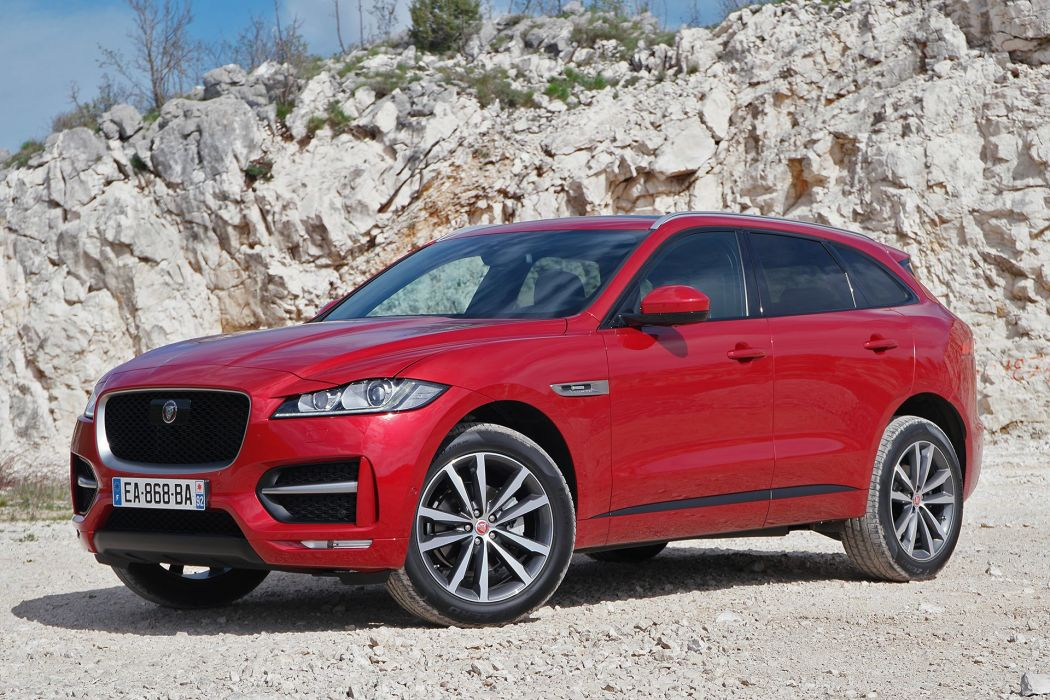 Jaguar F-Pace cars suv 2016 wallpaper