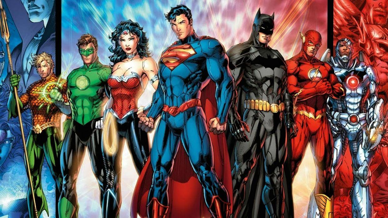 JUSTICE LEAGUE MORTAL superhero dc-comics comics d-c warrior fantasy sci-fi action fighting 1jlm superman poster batman wonder woman wallpaper