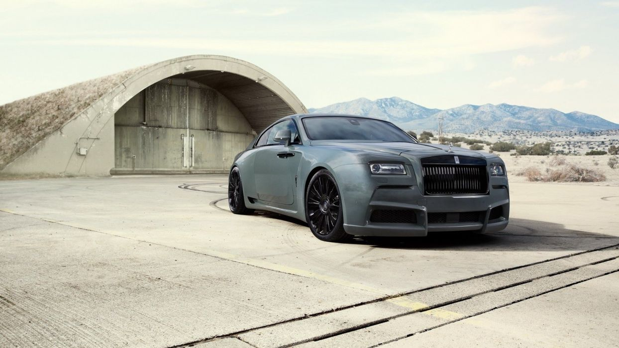 Rolls Royce Wraith SPOFEC cars modified wallpaper