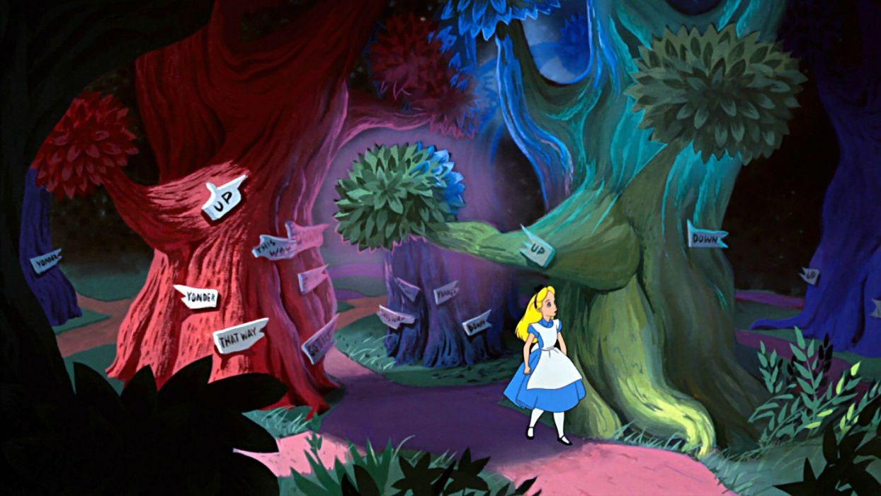 Alice Wonderland Fantasy Fairy Adventure Comedy Depp Disney