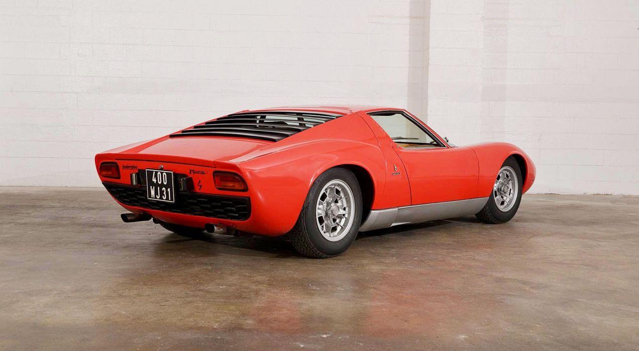 1969 Lamborghini Miura P400 S Classic Old Exotic Original Bertone