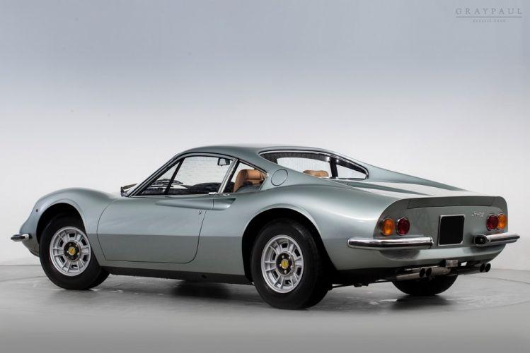 1972 Ferrari Dino 246 GT Classic Old Original Exotic Italy -02 wallpaper
