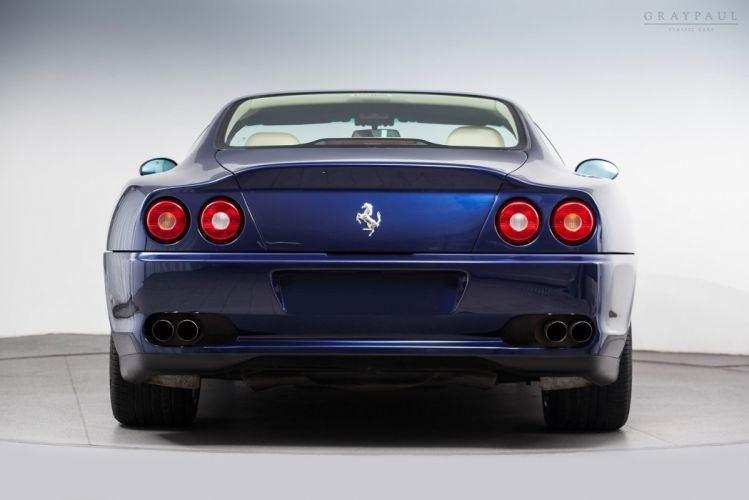 1999 Ferrari 550 Maranello Exotic Supercar Italy -05 wallpaper
