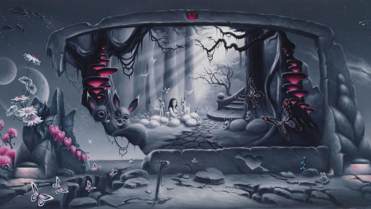 Movie / Alice In Wonderland (2010) (750x1334) Mobile Wallpaper