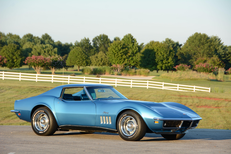 1969 Chevrolet Corvette Stingray Muscle Classic Old