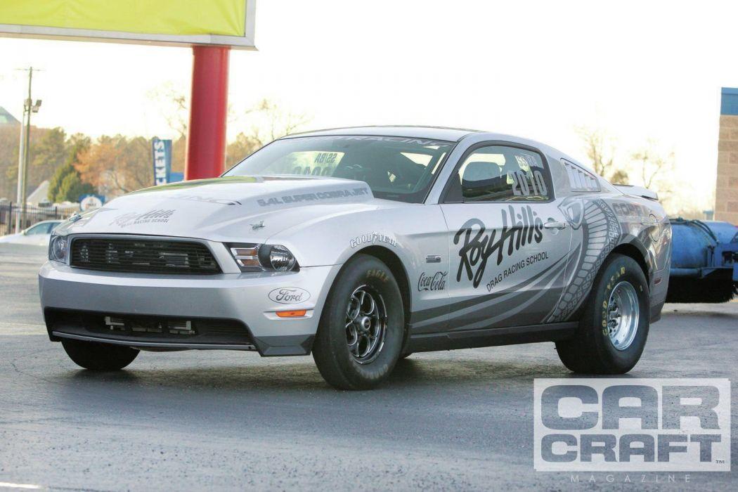 2010 Ford Mustang Cobra Jet Drag Dragster Super Street Stock Race