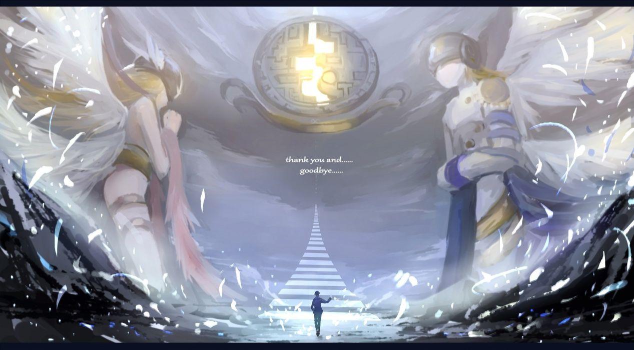 Angemon Angewomon Digimon Hc Wallpaper 1920x1061 946030