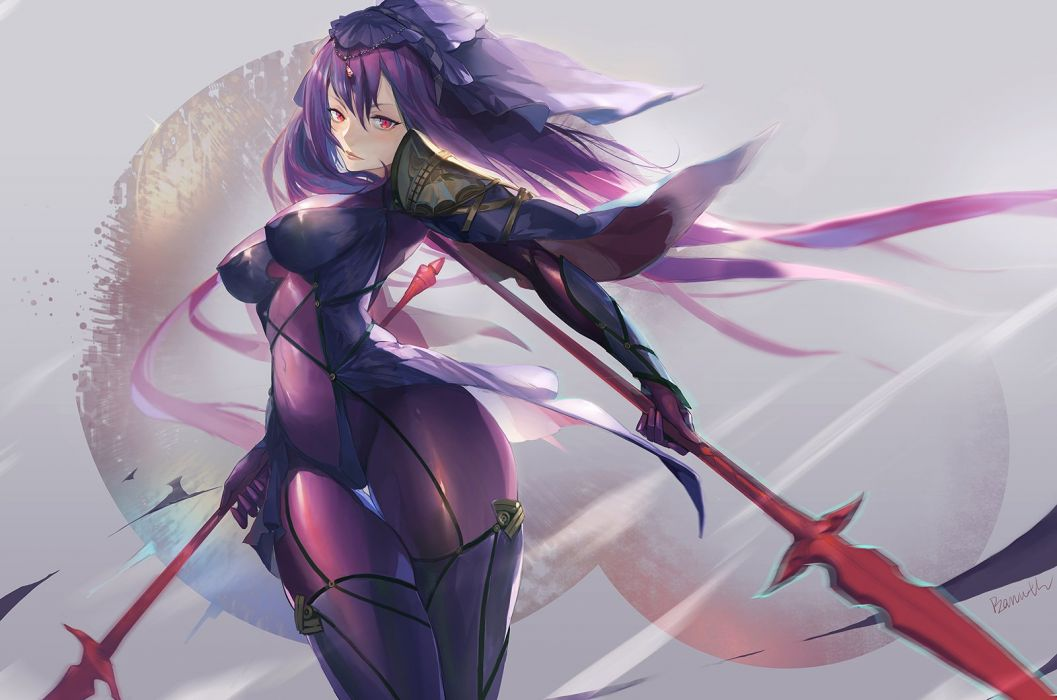 Bamuth Fate Series Fate Stay Night Scathach Fate Grand Order Wallpaper 1600x1060 946124 Wallpaperup
