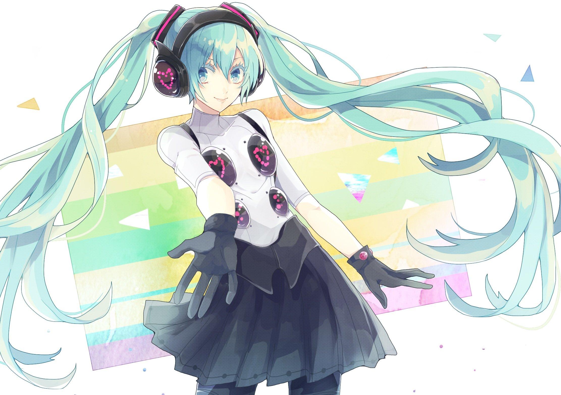 Hatsune Miku Junjam Persona Persona 4 Dancing All Night Vocaloid