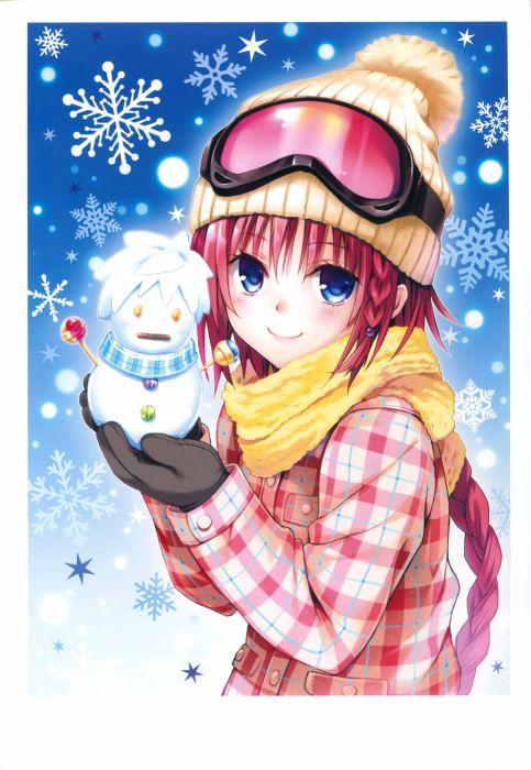 To LOVE-Ru Darkness Art Works Kurosaki Mea wallpaper