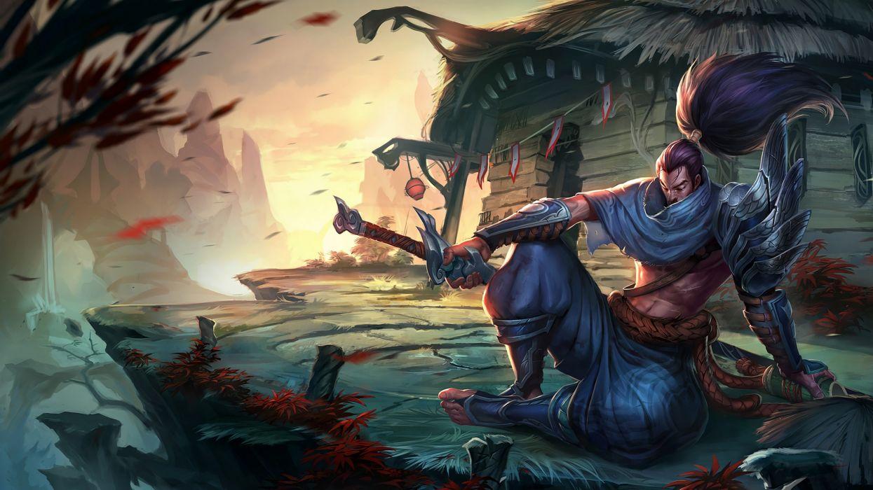 Yasuo The Unforgiven League Of Legends Wallpaper