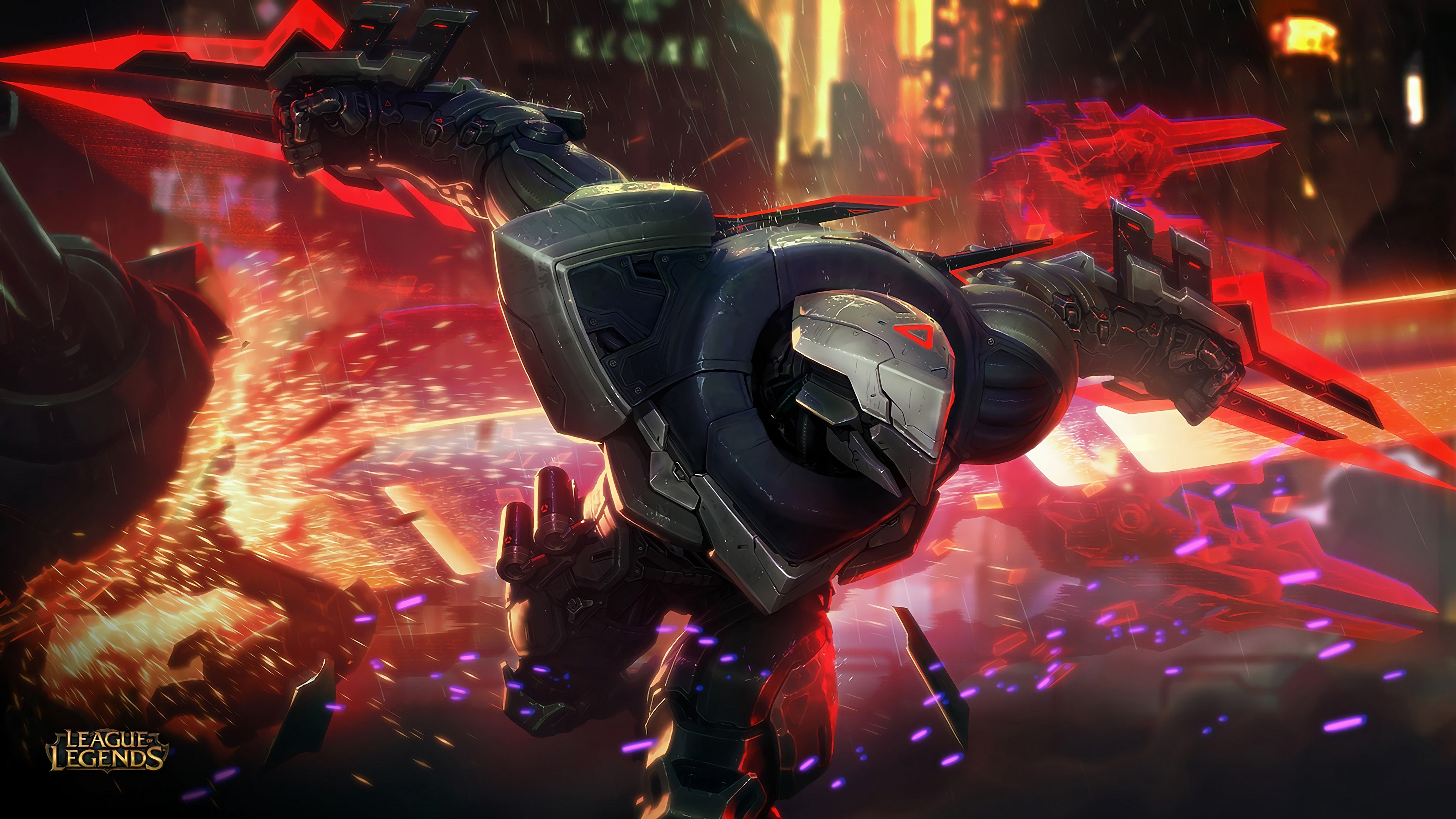 Project Zed Splash Art League Of Legends wallpaper | 3840x2160 ...