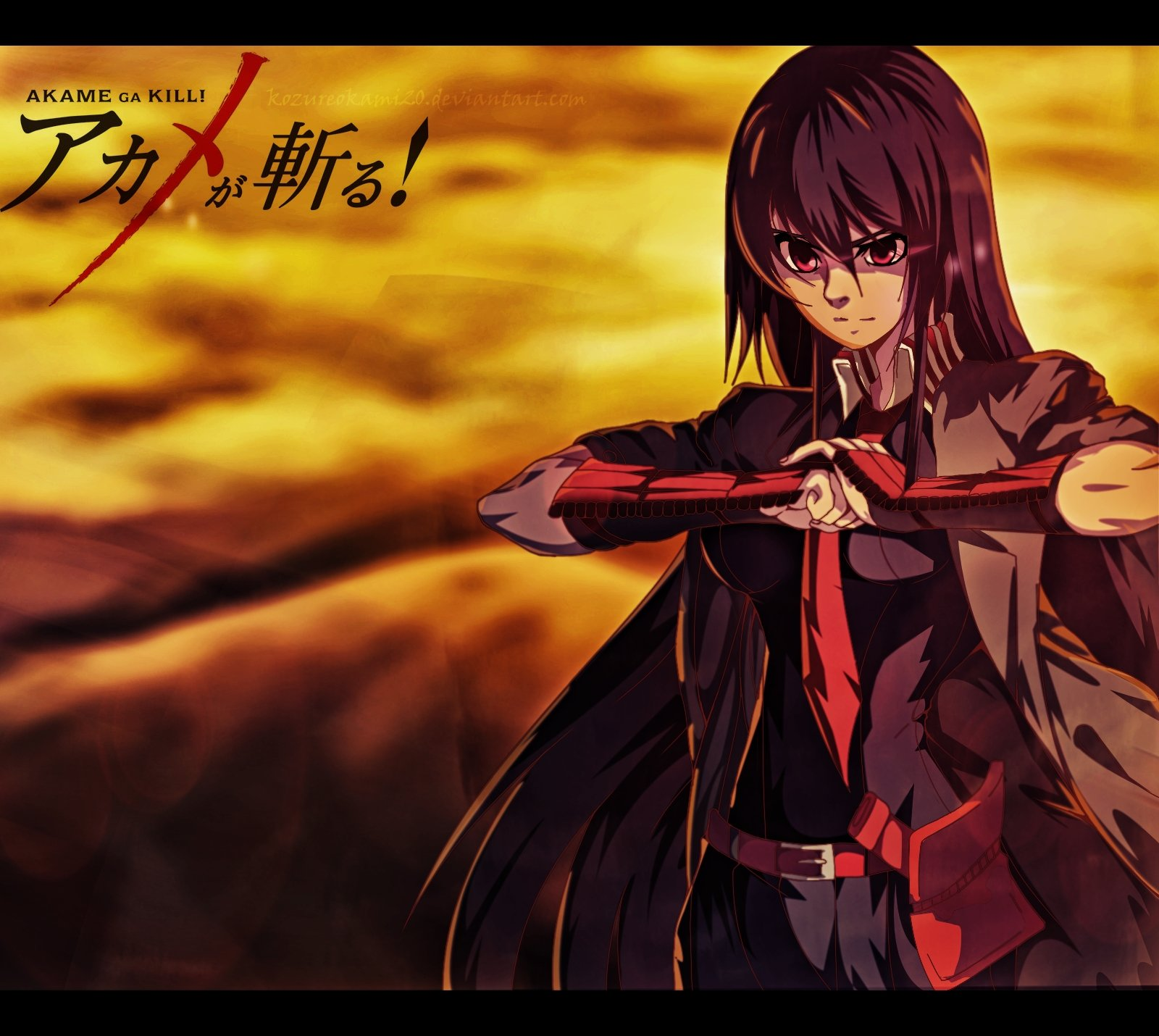 Akame Ga Kill Akame Wallpaper 1600x1430 946660 Wallpaperup