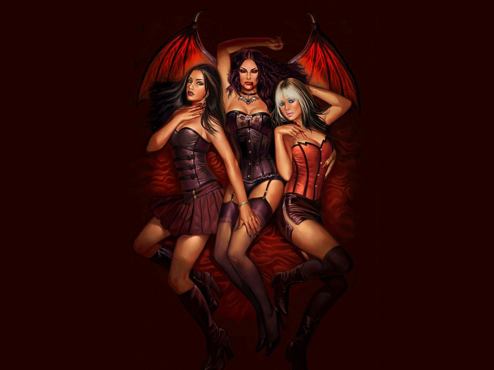 Seksy vampire wallpaper hentai bizarre whore