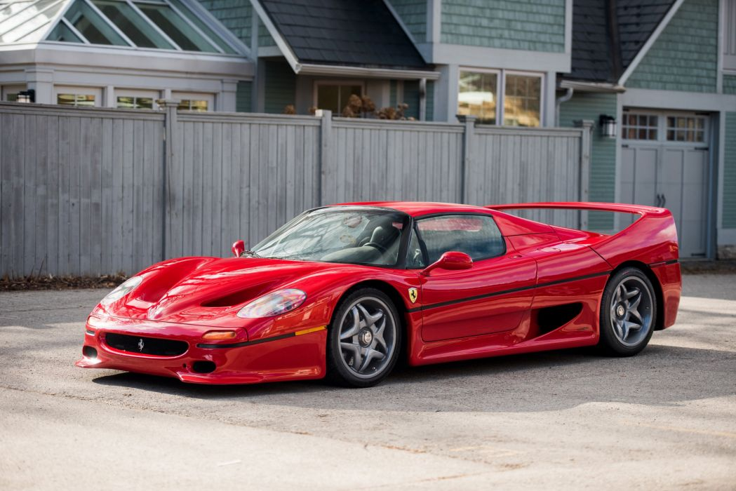 1995 Ferrari F50 supercar pininfarina wallpaper