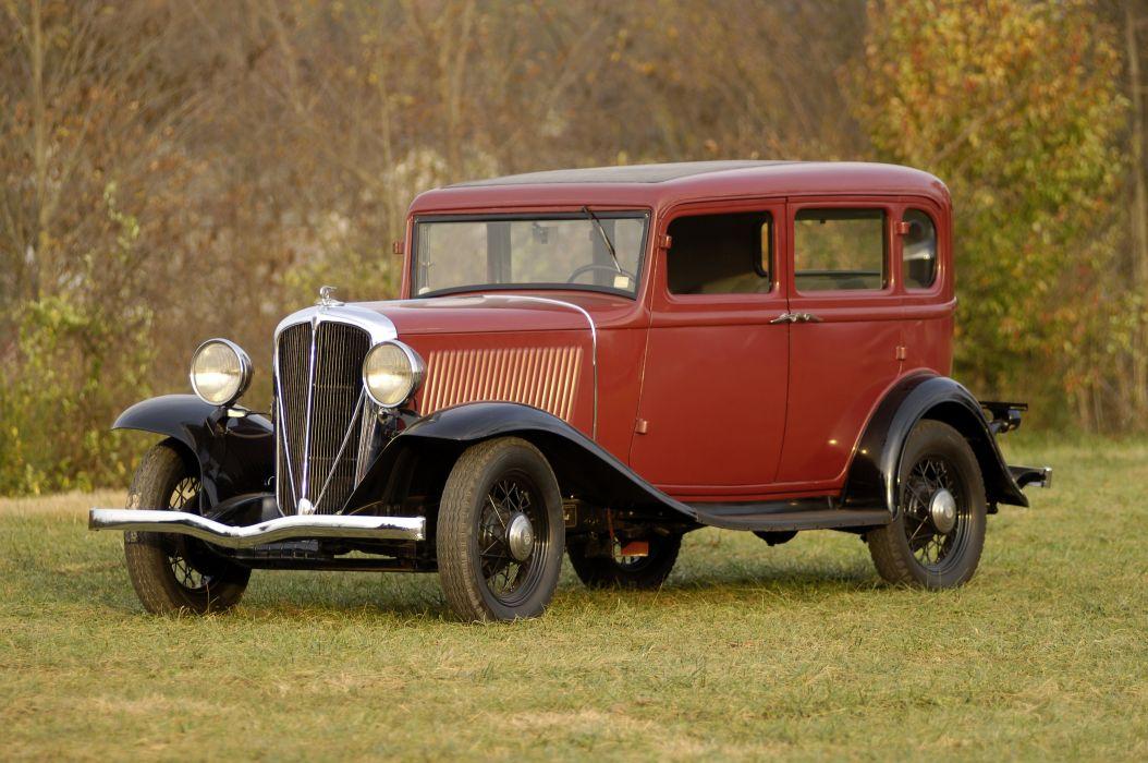 1932 Rockne Model-65 4-door Sedan vintage wallpaper
