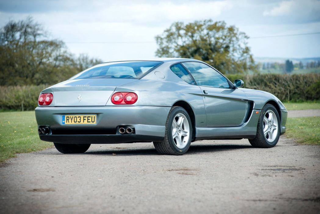 1998 Ferrari 456 M G-T Pininfarina supercar wallpaper