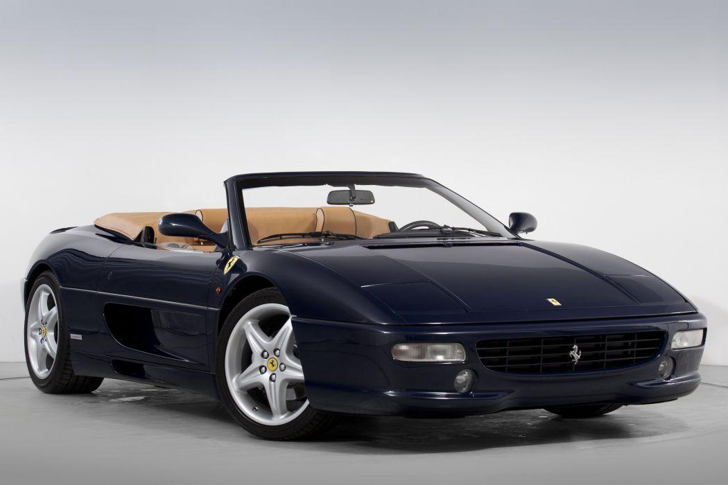 1997-99 Ferrari 355 F-1 Spider Pininfarina formula supercar wallpaper