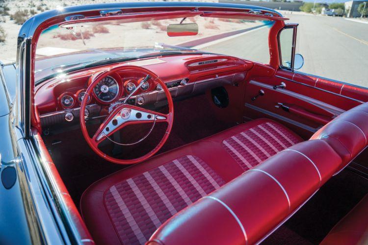 1959 Chevrolet Impala 348 320HP Convertible retro wallpaper