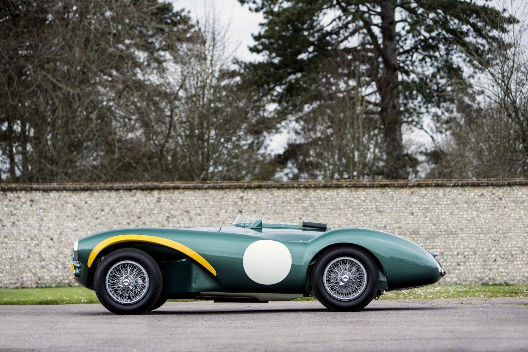 1955 Aston Martin DB3S retro race racing supercar wallpaper