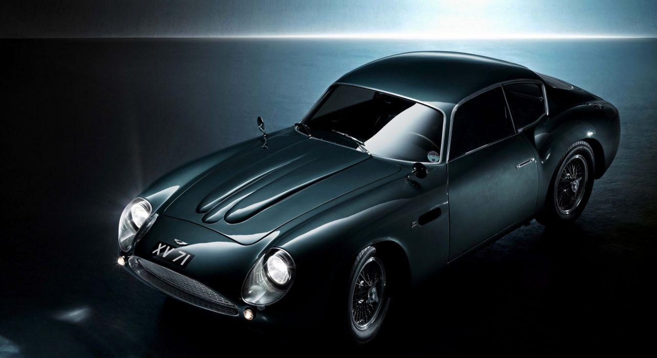 1960-63 Aston Martin DB4 GTZ Zagato classic wallpaper