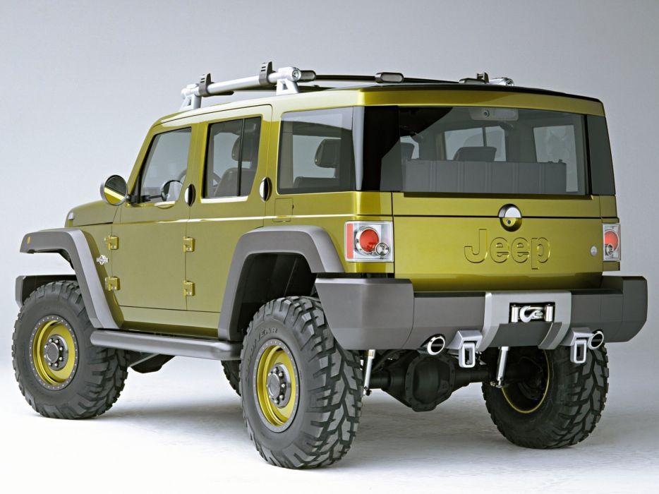 2004 Jeep Rescue Concept suv 4x4 wallpaper