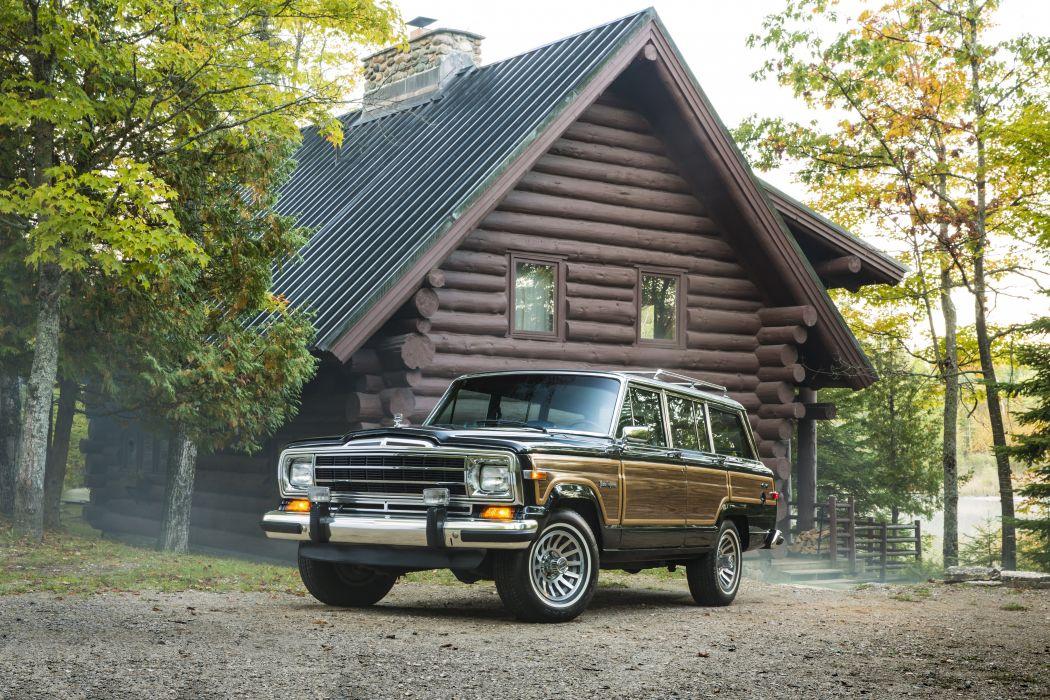 1987aei91 Jeep Grand Wagoneer stationwagon suv 4x4 wallpaper